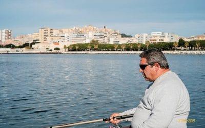 Cagliari iI pescatori e il mare