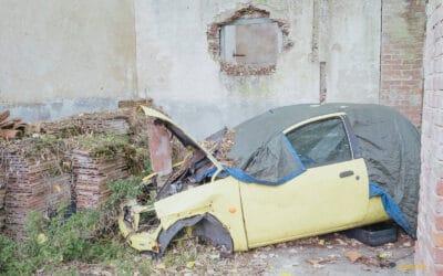 auto abbandonate Sardegna