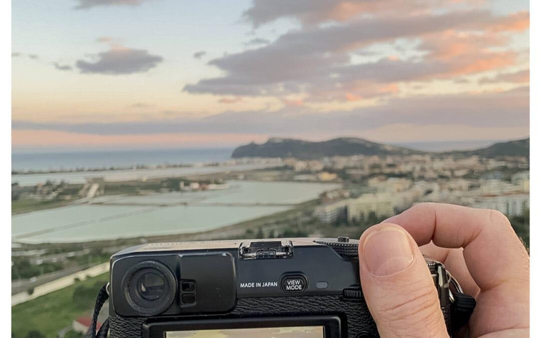Punto panoramico di Monte Urpinu